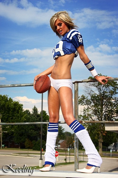 uniforms Nude girls in football